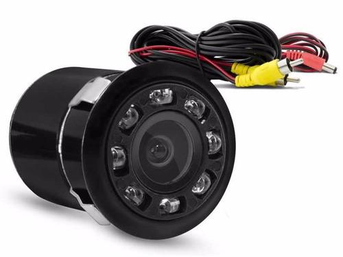 câmera de ré infravermelho led visão noturna mini