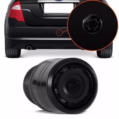 câmera de ré visão noturna colorida infravermelho parachoque
