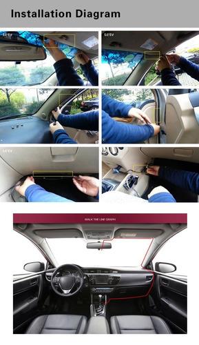 câmera de segurança automotiva dvr gt300 hd 1080p dashcam