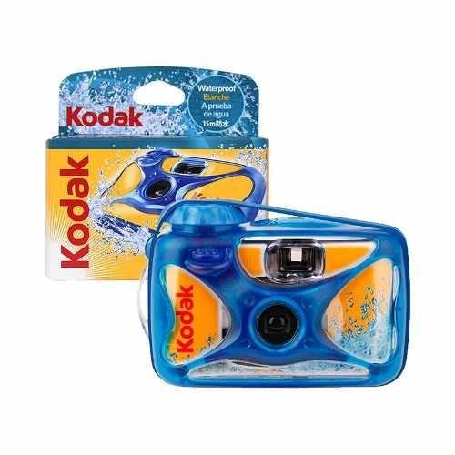 câmera descartável kodak sport prova d'água