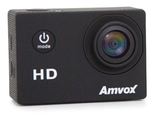 câmera digital amvox adc 800 hd tela 2  prova d'água