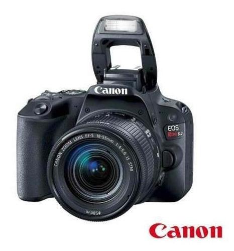 câmera digital canon eos rebel sl2 - nf + garantia