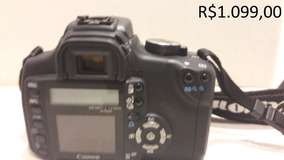 Camera Canon Ds126071 Eos Rebel Xt - Câmeras Canon, Usado no