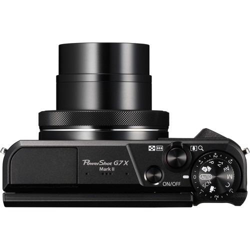 câmera digital canon powershot g7x mark ii, 20.2mp, full hd