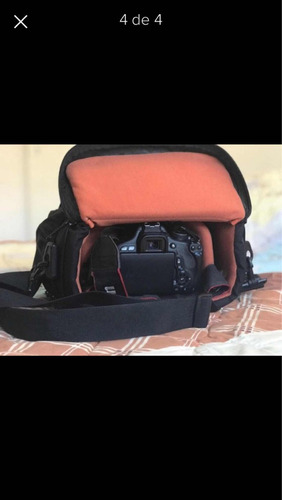 câmera digital canon rebel t3i c/ 2 lentes