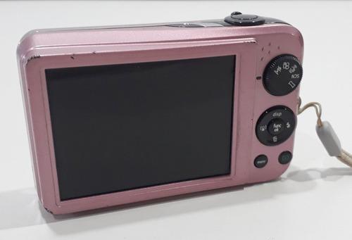câmera digital ge j1455 14mp zoom 5x rosa-retirada de peças
