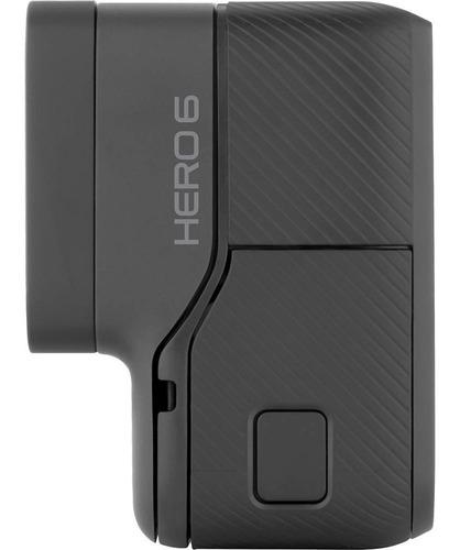 câmera digital go pro hero 6 black 4k original + garantia