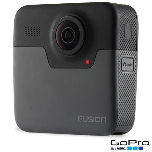 câmera digital gopro fusion 360 5.2k 18mp wi-fi - chdhz-103