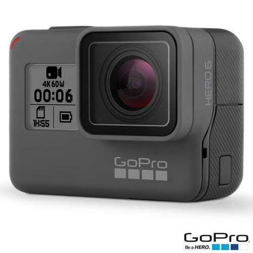 câmera digital gopro hero 6 black lacrada com nfe