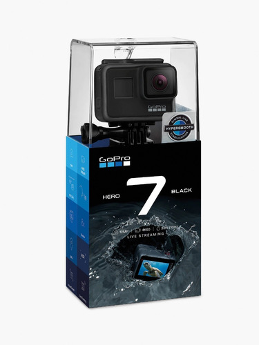 câmera digital gopro hero 7 black 12mp 4k nota fiscal