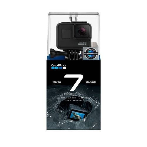 câmera digital gopro hero 7 black 12mp gravação 4k60+brinde