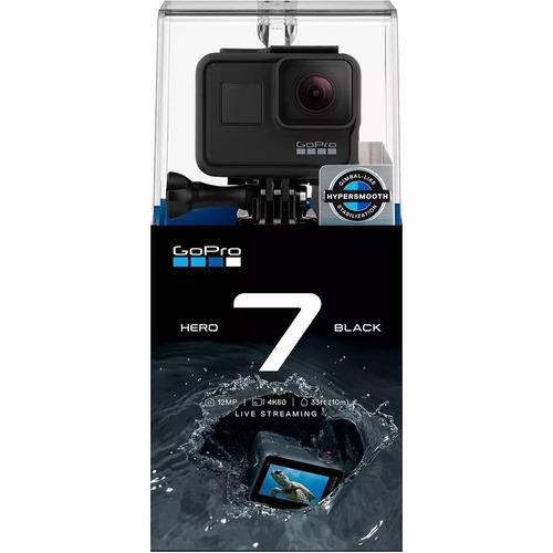 câmera digital gopro hero 7 black 12mp wi-fi 4k