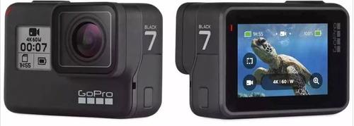 câmera digital gopro hero 7 black 12mp wi-fi 4k original