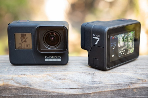câmera digital gopro hero 7 black + bastão the handler float