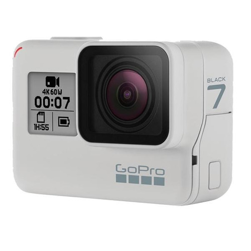 câmera digital gopro hero 7 black - branca - pronta entrega