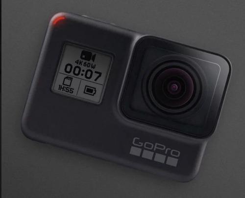 câmera digital gopro hero 7 black + caixa estanque + bateria