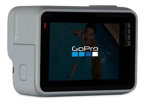 câmera digital gopro hero 7 white 10mp + kit acessórios