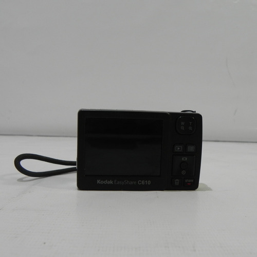câmera digital kodak easy share c610 5x digital 6.2mp prata