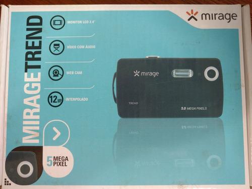 câmera digital mirage trend 5mp