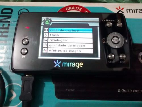 câmera digital mirage trend