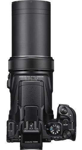câmera digital nikon coolpix p1000 zoom 125x / 12x s/juros