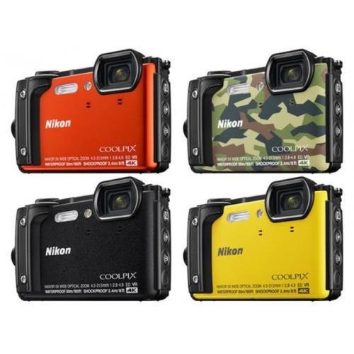 câmera digital nikon coolpix w300 16mp 4k wifi brinde 32 gb