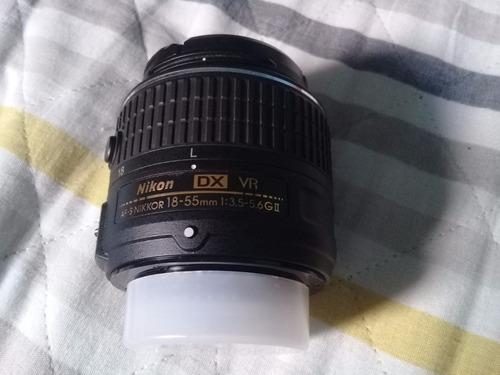 câmera digital nikon d3200 lente 18-55mm-com garantia!