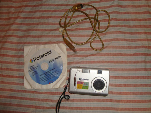 câmera digital polaroid pdc 4055 4.2 mega pixels