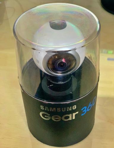 câmera digital samsung gear 360 com wifi bluetooth - sm-c200