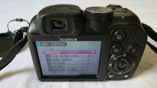 câmera digital semi profissional fujifilm finepix  s1000fd