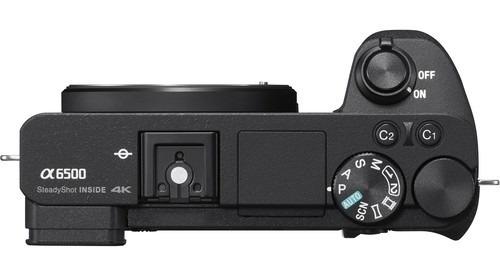 câmera digital sony alpha a6500 mirrorless 4k  (só corpo)