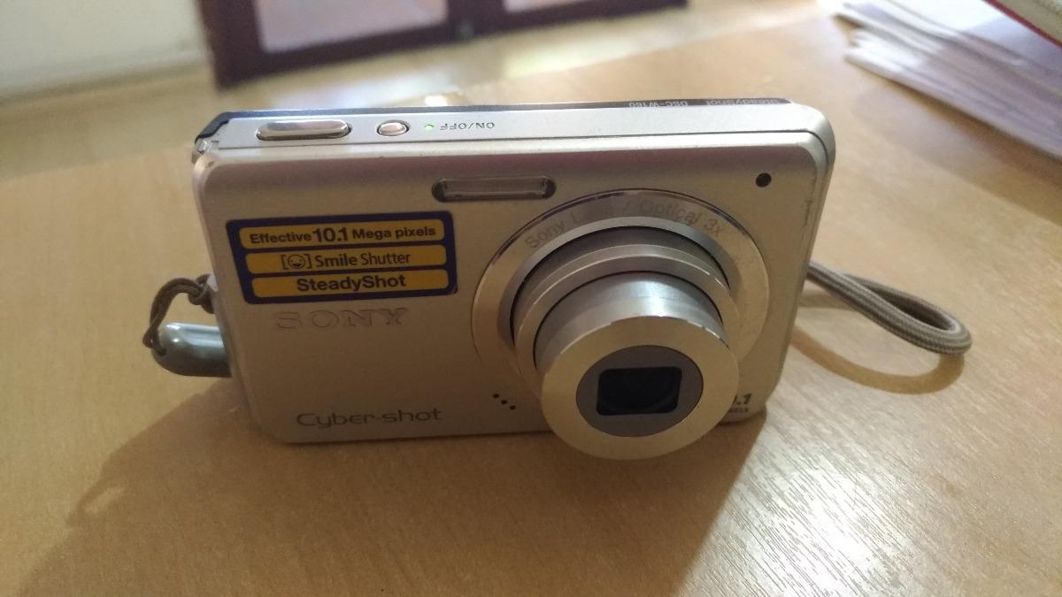 0458a9a29e Câmera Digital Sony Cyber Shot Dsc-w180 - 10.1 Mp   Usada - R  90