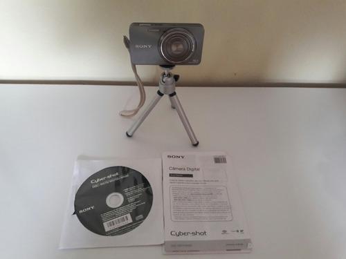 câmera digital sony cyber-shot dsc-w570 prata