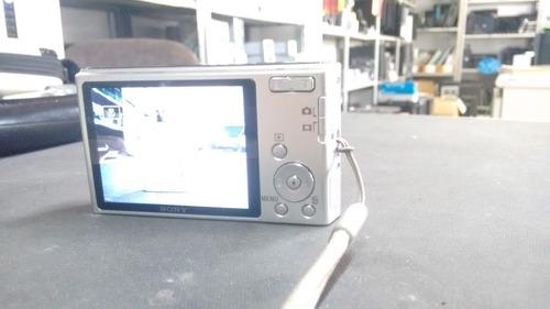 câmera digital sony cyber shot w530 com bateria, s/acessório