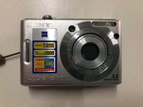 câmera digital sony cybershot  7.2 megapixels