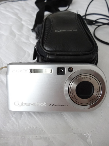 câmera digital sony cybershot dscp200 7.2mp
