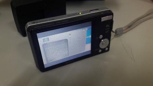 câmera digital sony dsc-w350 cyber-shot 14,1mp carl zeiss