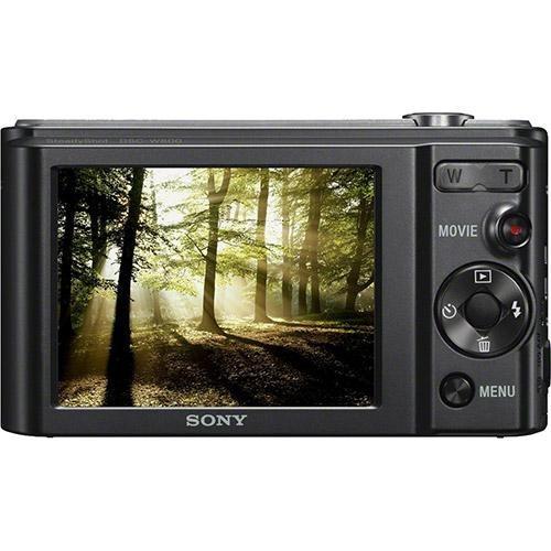 câmera digital sony w800 20.1mp 5x zoom foto panorâm