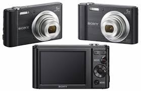 câmera digital sony w800 cyber shot 20.1 mp tela lcd hd