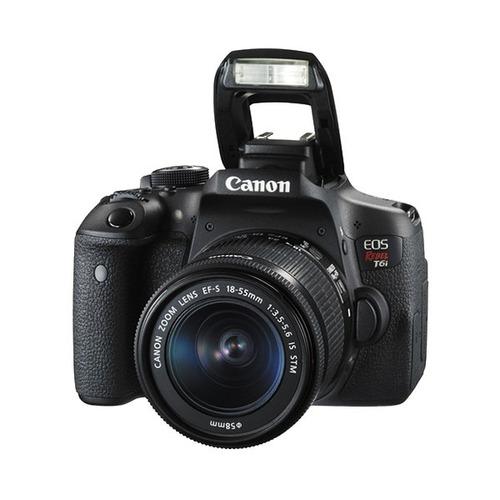 câmera digital t6i com 18-55mm canon nova - pronta entrega