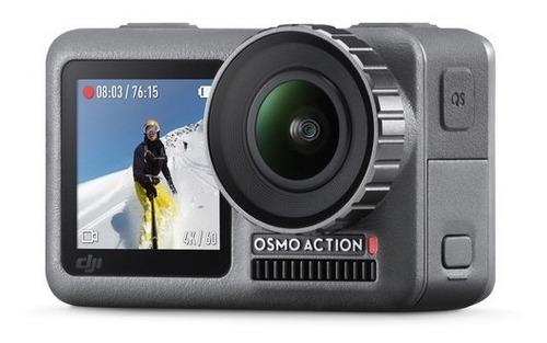 câmera dji osmo action 4k à prova d'água 11m, pronta entrega