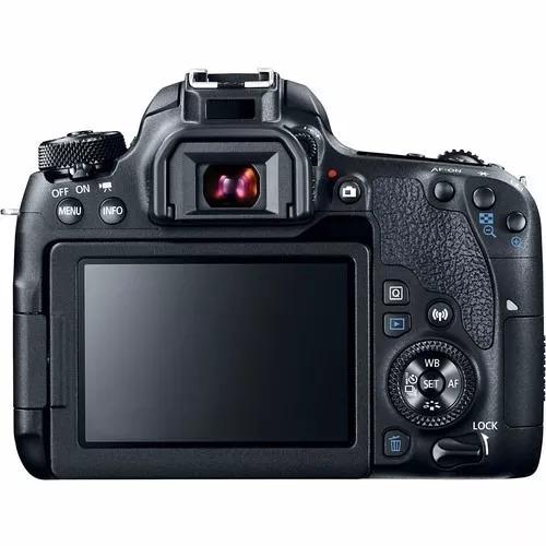 câmera dslr canon eos 77d corpo wifi c/ nota fiscal