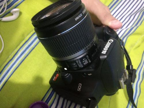 câmera dslr canon + lente 18-55mm