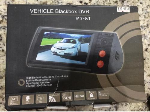 câmera dual car dvr c/gps logger/g-sensor/*leia a descrição*