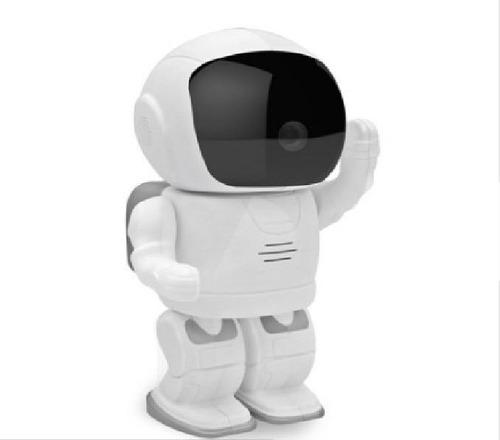 câmera e filmadora robô astronauta wifi  visão noturna