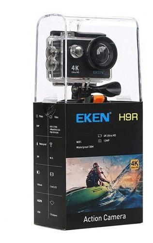 câmera eken h9r original 4k 32gb vários acessórios
