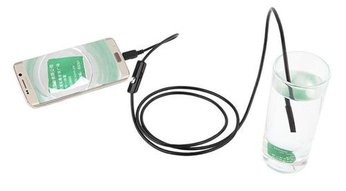 câmera endoscopica hd mini usb sonda android computador 7mm