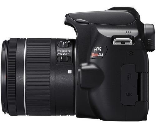 câmera eos rebel sl3 18-55mm + 55-250mm brasil 12x s/juros