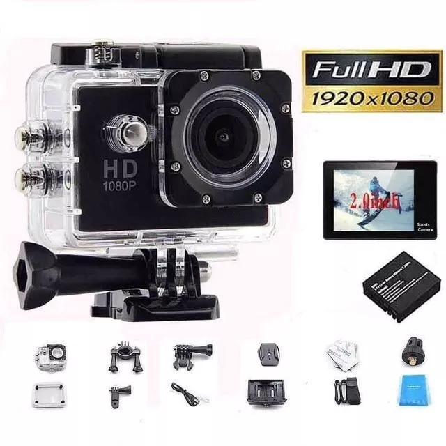 5950e9d6b3 Câmera Esportiva Action Cam Tipo Gopro Nova Barato Hd - R$ 249,00 em  Mercado Livre