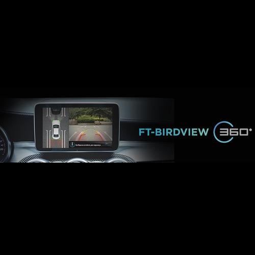 câmera estacionamento dvr ft-birdview 360° - faaftech
